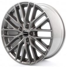 Borbet BS5 metalic grey R18 W8 PCD5x120 ET30 DIA72.6