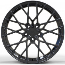 WS FORGED WS1244 FULL_BRUSH_BLACK_FORGED R18 W8 PCD5x112 ET45 DIA57.1