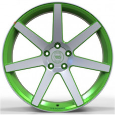 WS FORGED WS1245 MATTE_GREEN_WITH_MACHINED_FACE_FORGED R20 W9.5 PCD5x115 ET18 DIA71.6