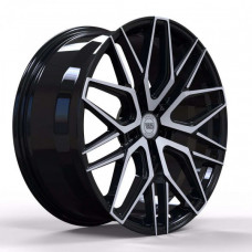 WS FORGED WS1281 GLOSS_BLACK_WITH_MACHINED_FACE_FORGED R20 W10.5 PCD5x112 ET40 DIA66.5