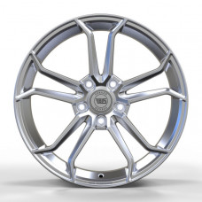 WS FORGED WS1344 FULL_BRUSH_SILVER_FORGED R18 W8 PCD5x120 ET50 DIA65.1
