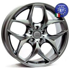 WSP Italy 10,0x19 Holywood W669 5x120 45 72,6 DARK SILVER